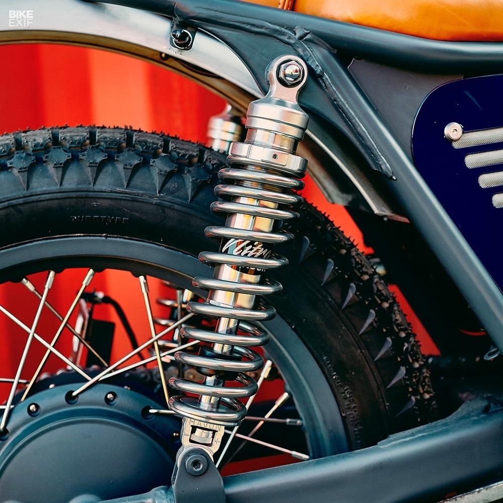 Egerie Motorcycle: трекер Kawasaki W650