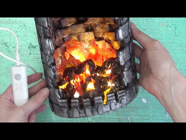 Презентация Подготовки к мастер классу Большой дракон Замок с огнем