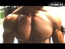 Amateur Bodybuilder Daniels last 20 minutes backstage before show.