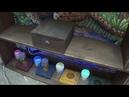 Дом Мерлина часть 7 подставка для книги и колбы с красками