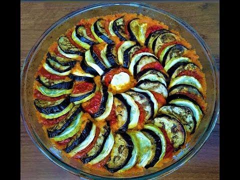 Вкуснейший РАТАТУЙ - Запеченные овощи Ratatouille Casserole.