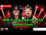 WWE Greatest Royal Rumble The Undertaker vs Chris Jericho Predictions WWE 2K18