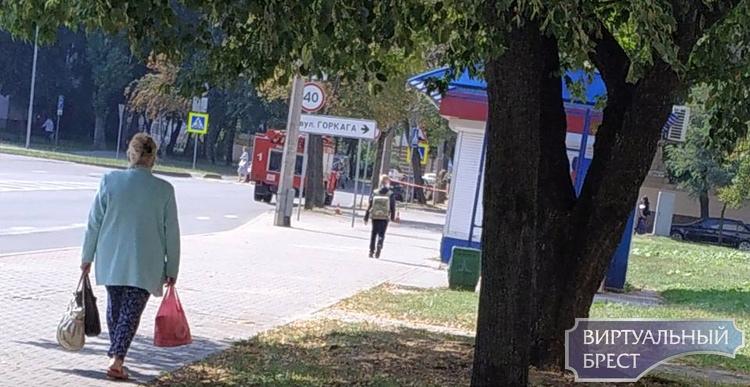 В Бресте сегодня на непродолжительное время перекрывали улицу Пушкинскую. Почему?