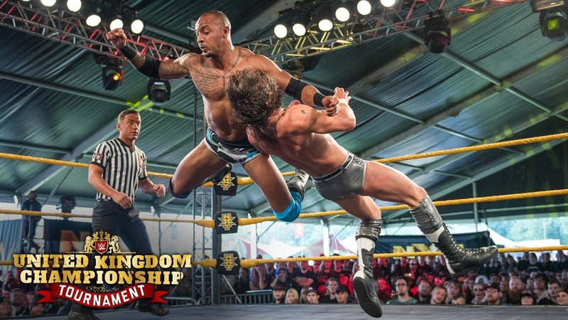 Smith vs Conners WWE U K Championship Tournament First Round Match June 14 2018