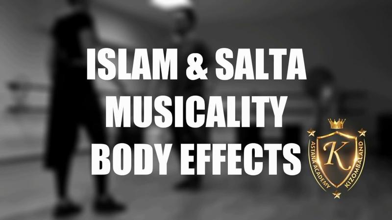 Perfect kizomba musicality by Islam Salta