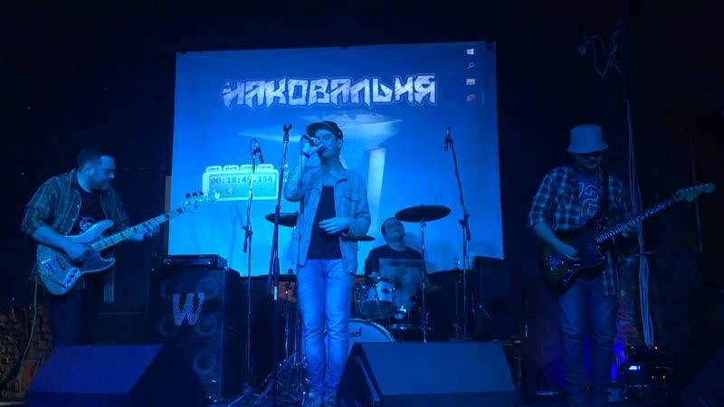 Капитаны Асфальтовых Прерий - Баллада об Уходе в Рай (Высоцкий cover) (live Badland Club 19.01.19)