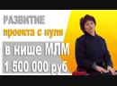 Первый запуск бизнеса с нуля до прибыли 1500 000 руб Бизнес система МЛМ Кейс
