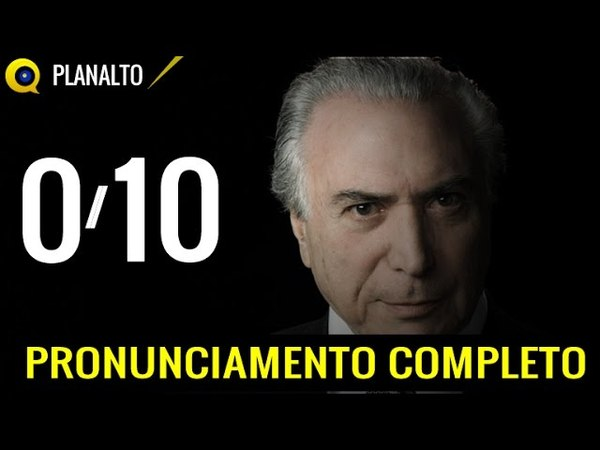 Michel Temer - Medidas Econômicas (Completo) Brasília 24/05/2016