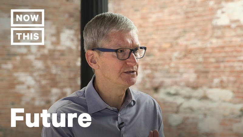Apple CEO Tim Cook Interview – The Future is Now [FULL INTERVIEW] | NowThis