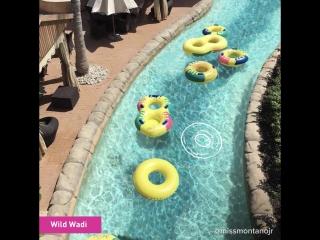Лучший способ освежиться: аквапарки Дубая