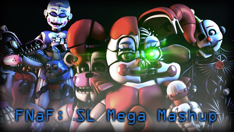 [SFM/FNaF:SL] Sister Location Mega Mashup - YingYang48 (Collab)