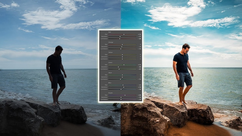 How to use the HSL / COLOR panel in LIGHTROOM