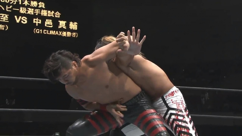 Hiroshi Tanahashi(с) vs. Shinsuke Nakamura Match for the IWGP Heavyweight Title (G1 Climax Special)