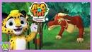 Лео и Тиг Таежная Сказка Нападение Волка Помощь от Бельчонка Мартика Новая Мульт Игра