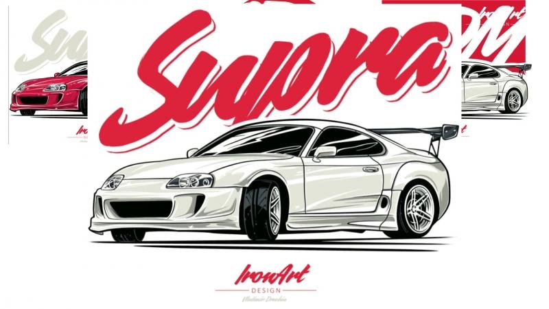 ЛЕГЕНДАРНАЯ Тойота Супра Toyota SUPRA