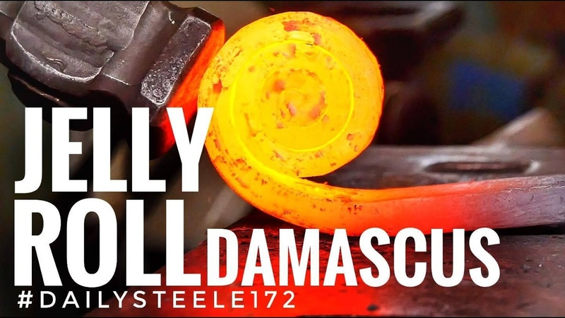JELLY ROLL DAMASCUS STEEL