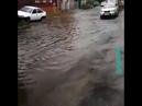 Длинная поплыла Тропический ливень в Краснодаре 16 июля 2018