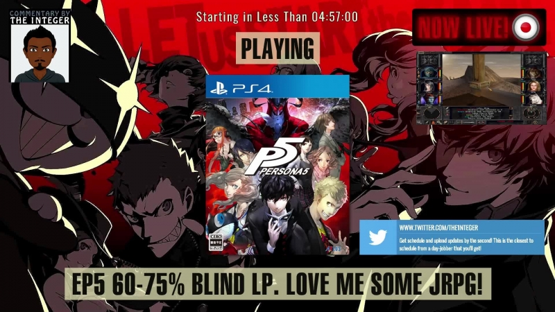 JRPG sexiness in Japan with Persona 5! [60% Blind. No Tips, Spoilers or Backseating thanks!] - Ep 5 [English Speaking Only Stre
