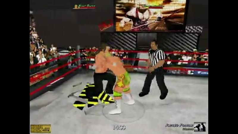 Billy Gunn vs Shawn Michaels
