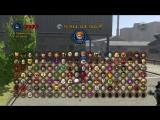 [Qewbite] Все Персонажи - LEGO Marvel Super Heroes - Часть 1