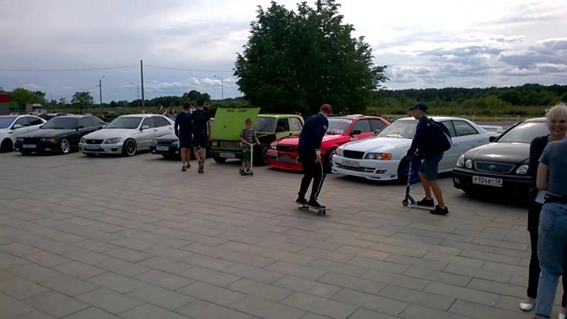 Diman Romeo - Форсаж Кириши 2018. Выставка машин в скейтпарке на День Молодёжи.