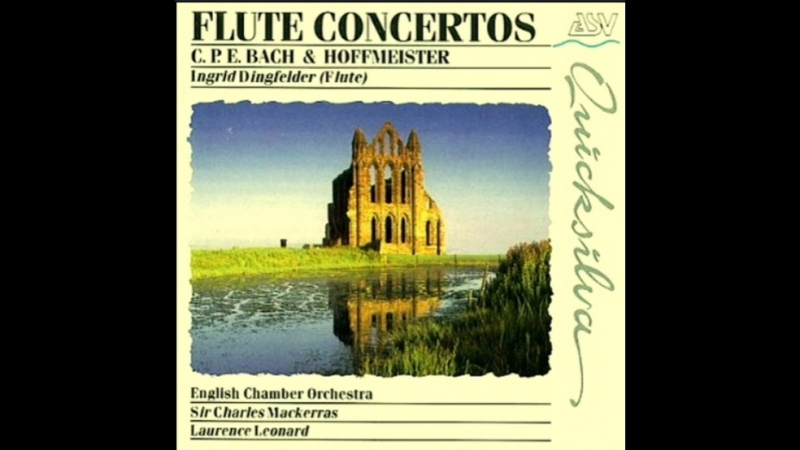 Franz Anton Hoffmeister Clarinet Concerto major B