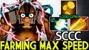 SCCC Alchemist Farming Max Speed with Radiance Mjollnir 7 19 Dota 2
