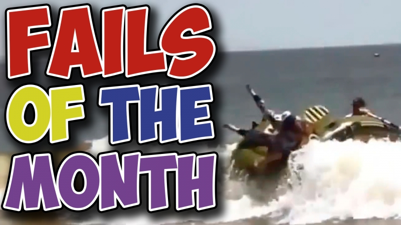 Best Fails of the Month - Beach Games are Funny (August 2017)