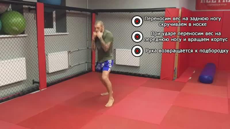 Как поставить боковой нокаутирующий удар. Хук — техника ударов в боксе от Андрея