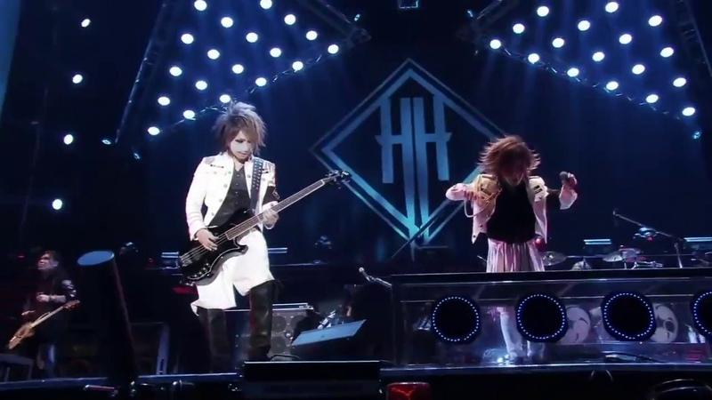 The GazettE dance under solo Kai Reita (the GazettE - 15th Anniversary Concert)
