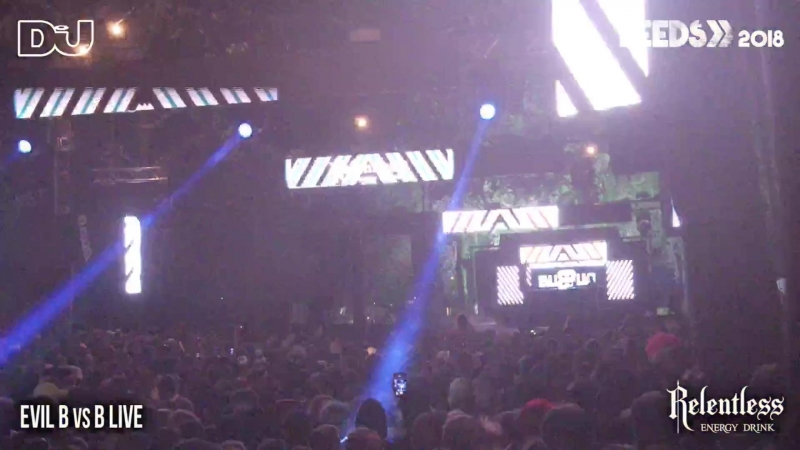 Evil B vs B Live LIVE from the Relentless Energy stage at Leeds Festival