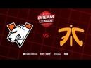 Virtus.pro vs Fnatic, DreamLeague Season 11 Major, bo3, game 1 [Casper GodHunt]
