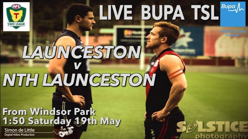 LIVE: BUPA TSL Rd 8 - Launceston v Nth Launceston