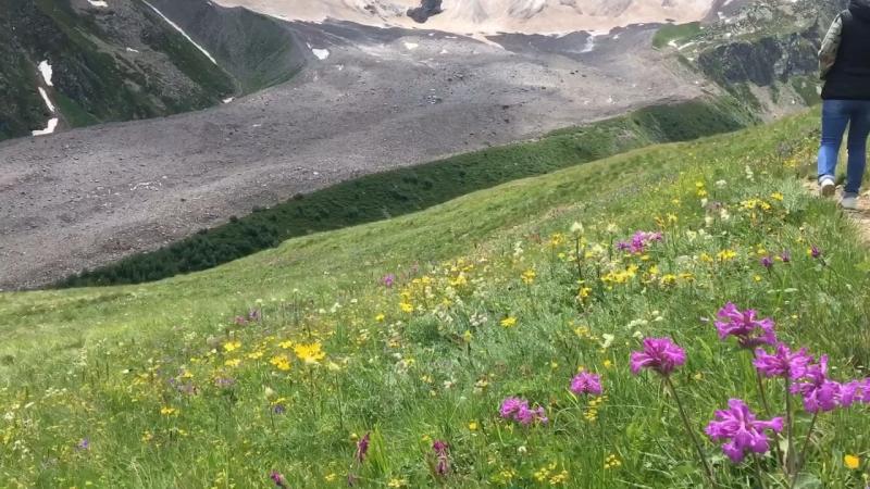 Поездка в горы ⛰ Эльбрус, Чегет . Подруга Зоя