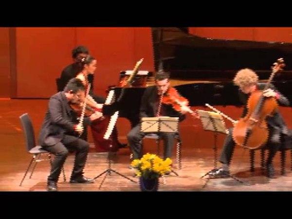 Joaquin Turina - Piano Quartet a-minor, op. 67 - Lento, Vivo, Andante - Allegretto