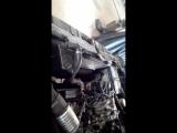 Работа двигателя Opel Monterey 93г АКПП, 3,2