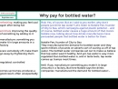 BBC - 6 Minute English - Why pay for bottled water