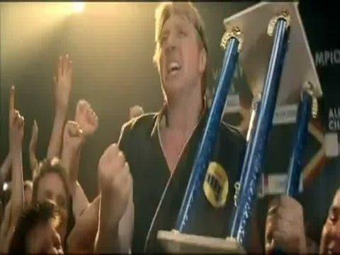 Karate Kid - final (Johnny wins/ Johnny vence)
