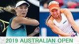 Caroline Wozniacki vs Johanna Larsson