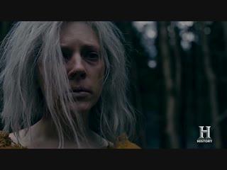 Vikings Lagertha Watches Ragnars Death at Snake Pit 5x18 [Season 5b Scene (HD)