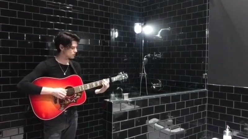 You know I love that bathroom reverb though️