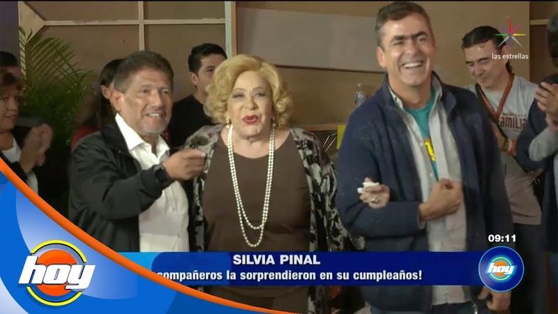 Hoy | Празднование дня рождения Сильвии Пиналь