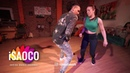 Yoanis Meneses and Olga Samoilova Salsa Dancing in Respublika Vosmera, Monday 30.04.2018