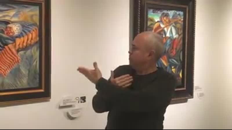 Виктор Паленный прочитает лекцию на жестовом языке о Давиде Бурлюке