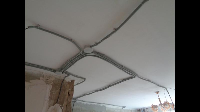 Ремонт квартир в Вологде Ул Воркутинская 1 комнатная 40 м2 Выполнена новая разводка электропроводки от щитка по всей кварти