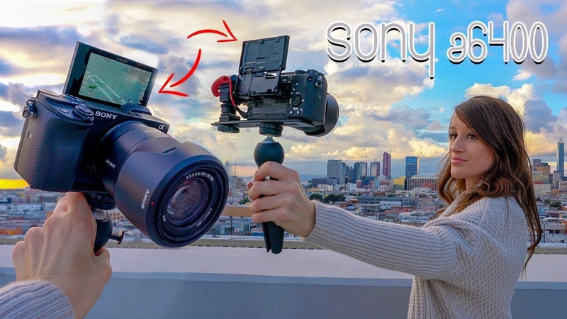 NEW SONY a6400 CAMERA with a FLIP SCREEN! 📸