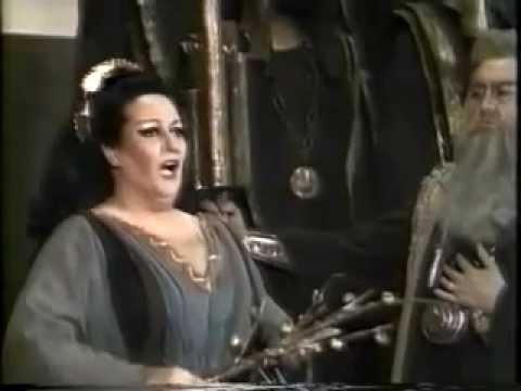 """Montserrat Caballe """"Casta diva"""" Norma"""