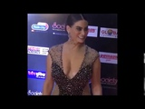 Desi B Grade Actress Low Cut Dress