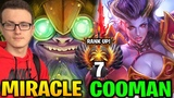 Miracle Tinker vs Cooman QoP Still One Rank up! Dota 2 7.17