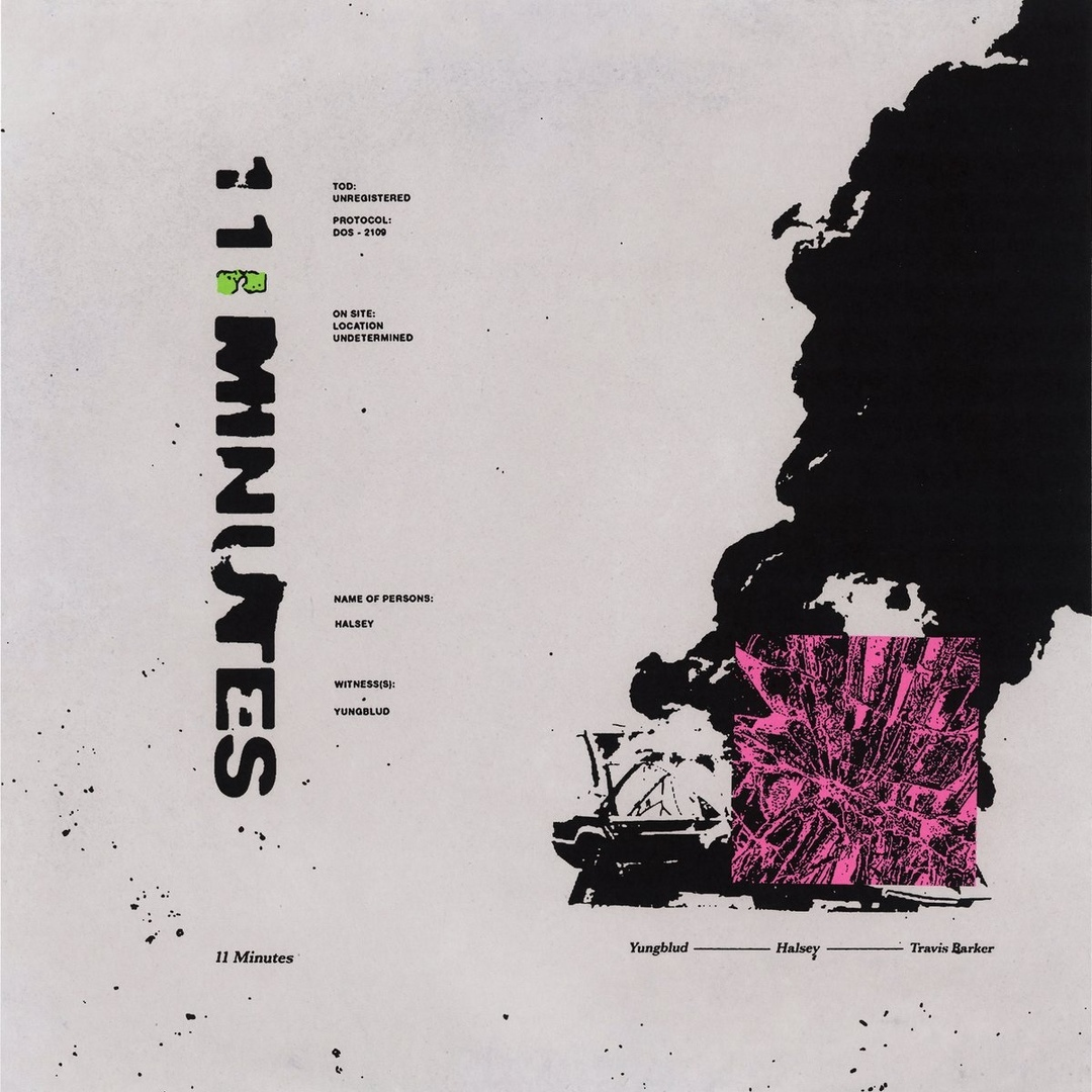 YUNGBLUD & Halsey - 11 Minutes (Single)